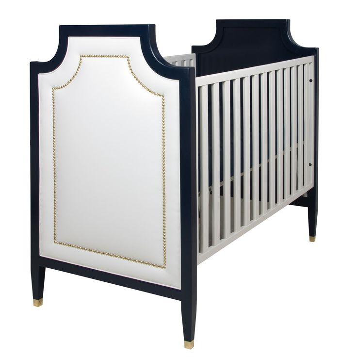 Buy Gramercy Crib by AFK Furniture - Made-to-Order designer Furniture from Dering Hall's collection of Traditional Transitional Cribs & Bassinets.