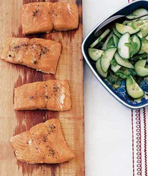How to grill salmon and tons of other foods.