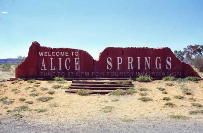 Alice Springs, Australia. Trapping on a train in Malaysia I read this great book recommended by my Aunt Betty called A town called Alice....I was so excited when we too landed in Alice Springs!