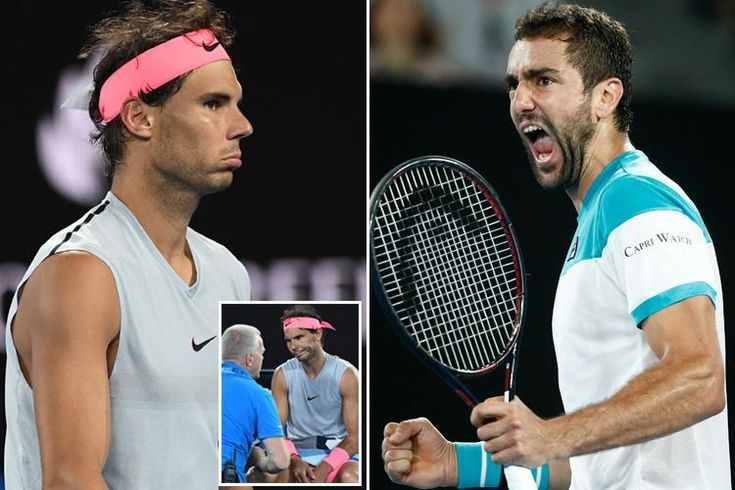 MARIN CILIC ousted crocked Rafael Nadal in a grim reversal of fortune. Damage had wrecked Cilic's Wimbledon ultimate towards Roger Federer however this time he was the beneficiary as poor Nadal give up early within the fifth set.   Getty Photographs   Rafa Nadal had to retire by way of damage t...