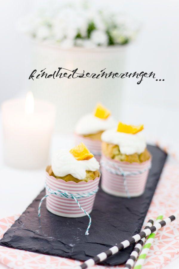 Fanta-Cupcakes mit Orangentopping * by http://titatoni.blogspot.de/
