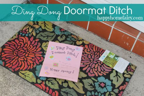 Ding Dong DOORMAT Ditch
