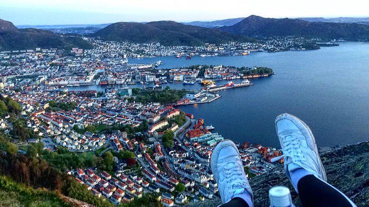 Stoltzen,Bergen,Norway, hiking,stairs