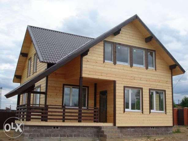 Строительство Каркасных Домов, Коттеджей, Бань. Борисполь - изображение 1
