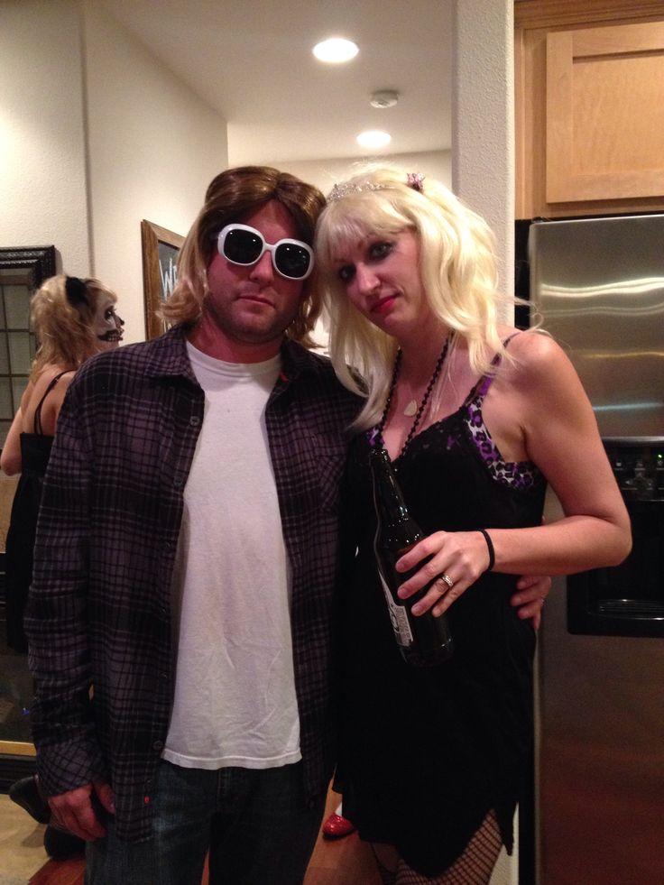 90's couple costume Kurt Cobain & Courtney Love ...