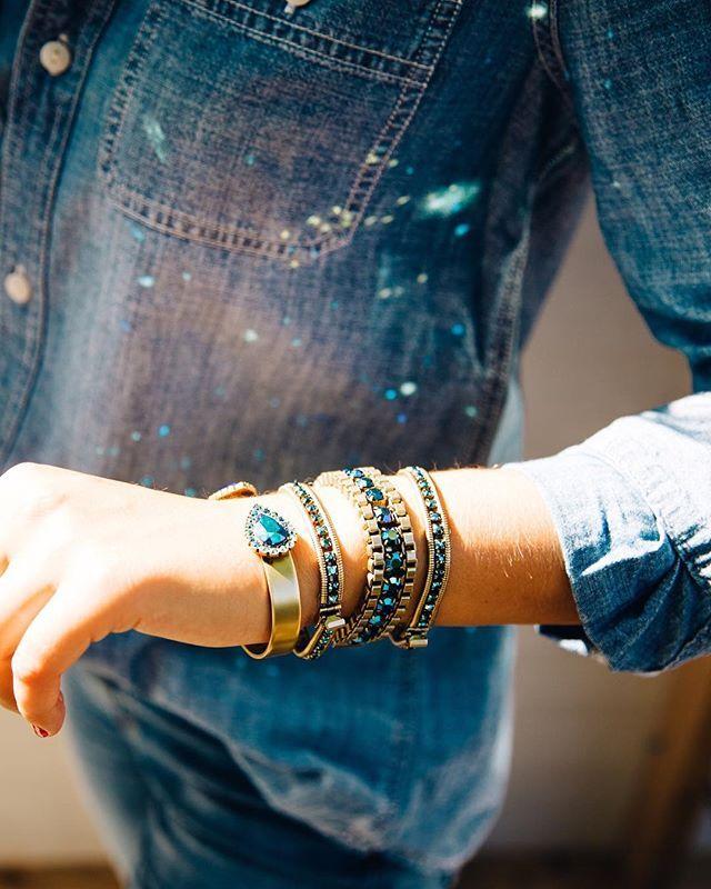 Loren Hope Bracelet Stack Light