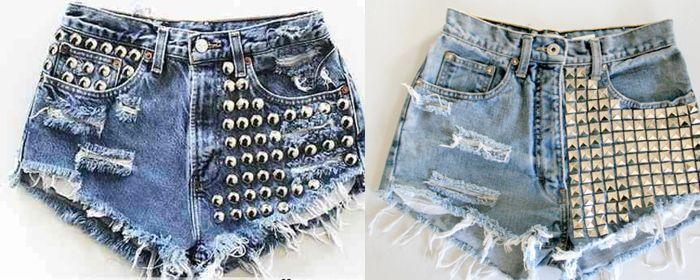Aprendé a renovar tus short de jeans!!! - Imagen 2