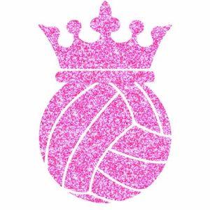 Volleyball Crown! http://www.girlsloveglitter.com/voleyball-crown-transfer.html