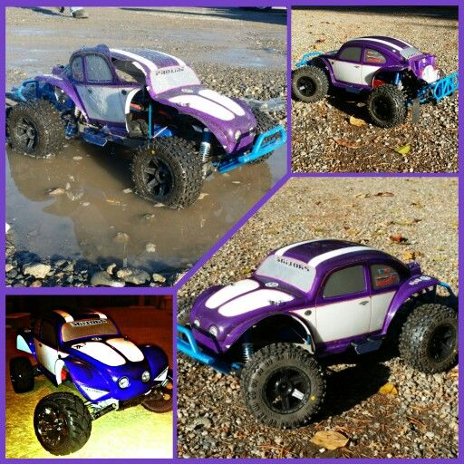 Custom Painted 4x4 Traxxas Slash Bodies