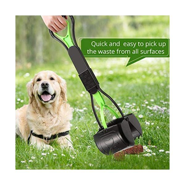 Ppogoo Non Breakable Pet Pooper Scooper For Dogs And Cats With