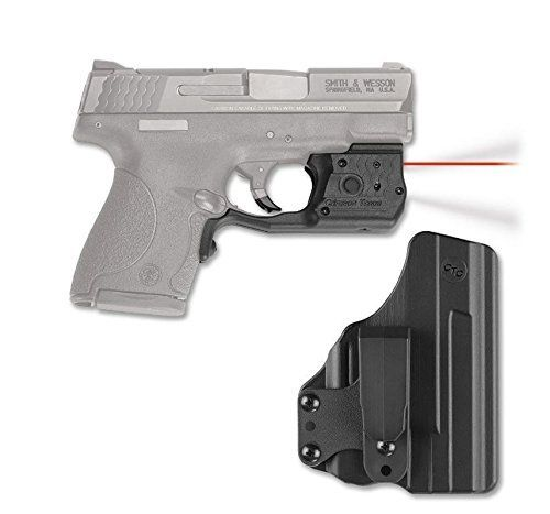 Crimson Trace Red Laserguard & Tactical Light with BladeTech Holster for M&P Shield - LL-801-HBT by Crimson Trace. Crimson Trace Red Laserguard & Tactical Light with BladeTech Holster for M&P Shield - LL-801-HBT.