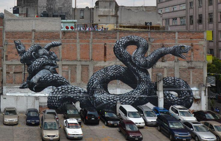 ROA in Mexico, Cambodia + Gambia - unurth | street art