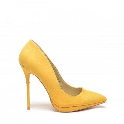 Pantofi Patic Galbeni (Galben)