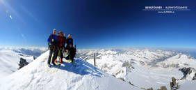 Skitour bei besten Verhältnissen auf den Großvenediger mit dem Bergführer von Alpindis.at (Obersulzbachtal, Nationalpark Hohe Tauern, Neukirchen am