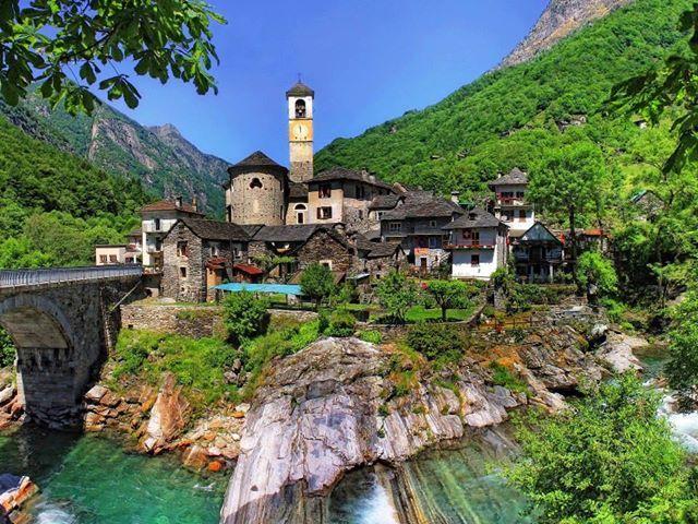 Ticino, Lavertezzo, Switzerland