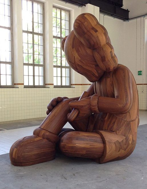 """KAWS """"Giswil"""" Exhibition at More Gallery 
