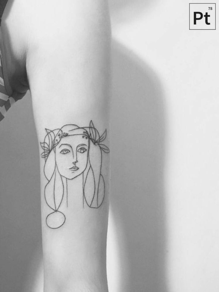 Picasso Line Drawing Tattoo : Best images about artwork tattoos on pinterest