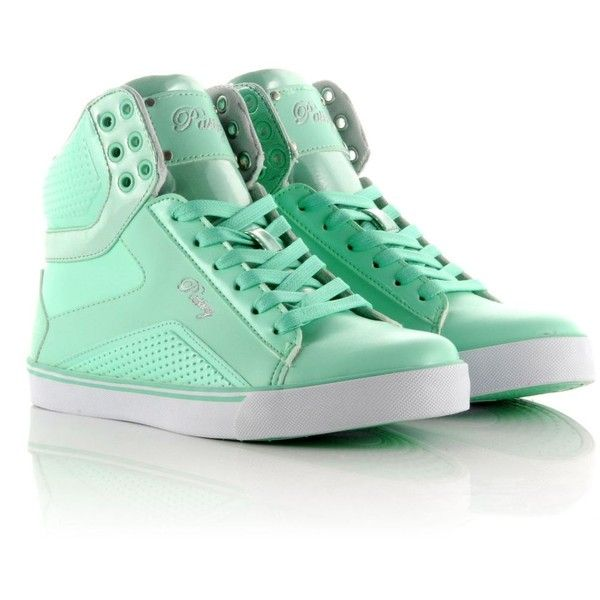 Pastry Pop Tart Sweet Crime Hi Tops ($89) ❤ liked on Polyvore