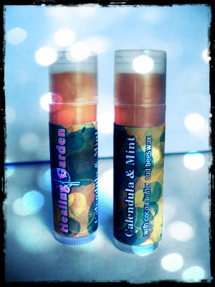 Lip Balm with Calentula Oil & Essential Oil of Mint