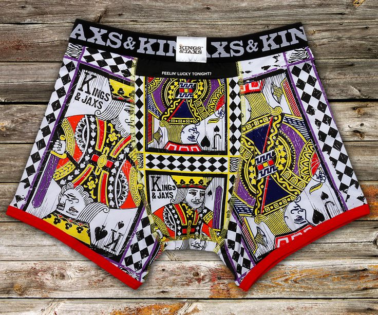 Kings and Jaxs Prism Boxer Briefs Underwear Back