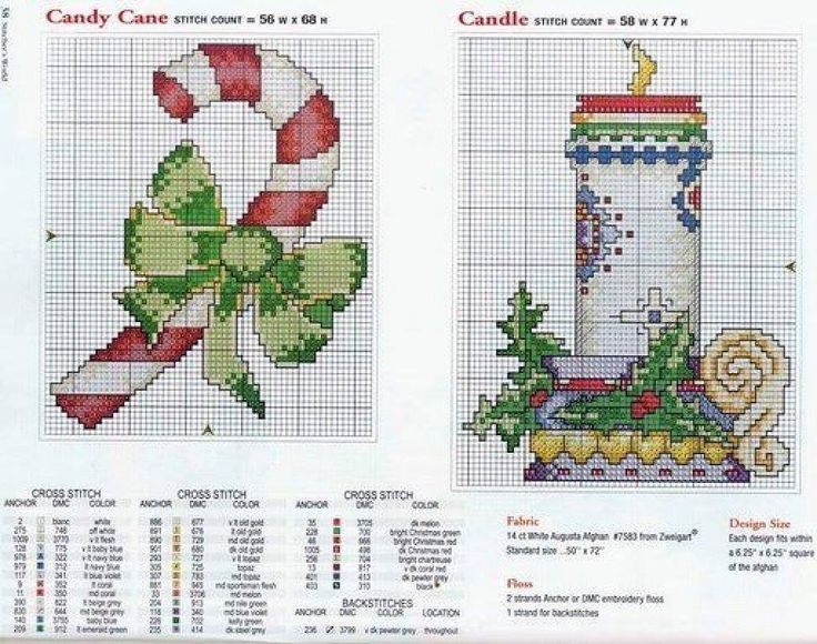 203 Best Candy Canes In Cross Stitch Images On Pinterest