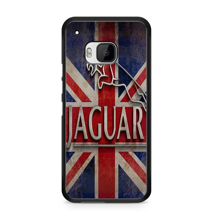 Jaguar Logo England Flag For HTC ONE M9