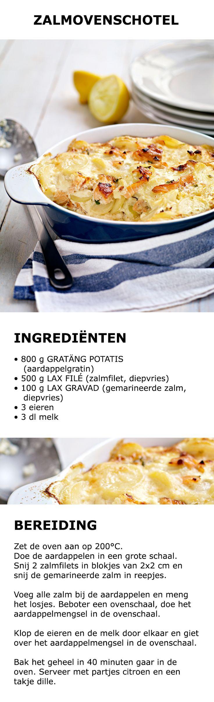 Inspiratie voor in de keuken - Zalmovenschotel | #IKEA #IKEAnl #koken #gerecht…