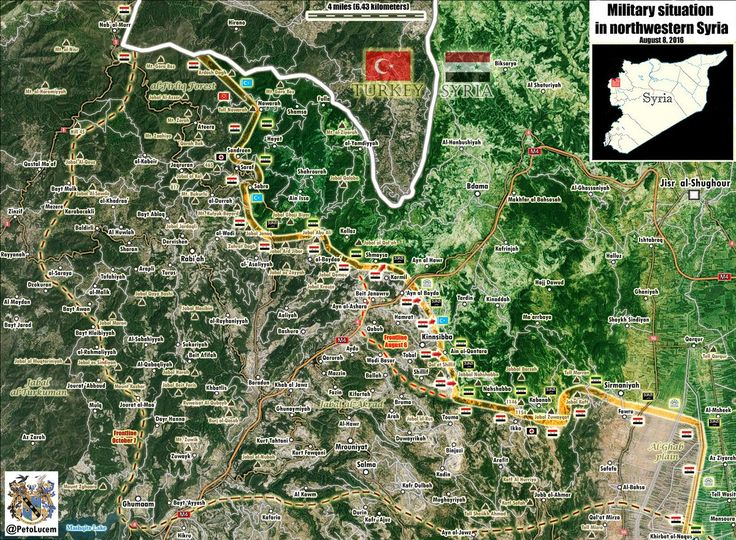 Map Update Kurd Mountain NE #Lattakia 🇸🇾: - #SAA captured strategic town of #Kinsabba & its surrounding hills