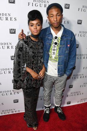 Janelle Monae and Pharrell Williams - Star Gazing 11.18.16