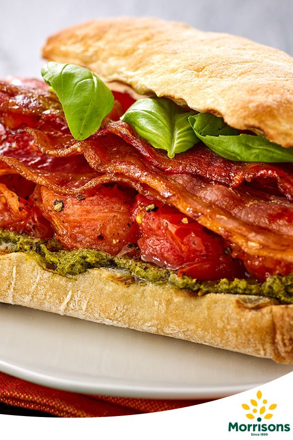 In the mood for love? Try our Bacon and pesto sandwich recipe from our Emotion Cookbook