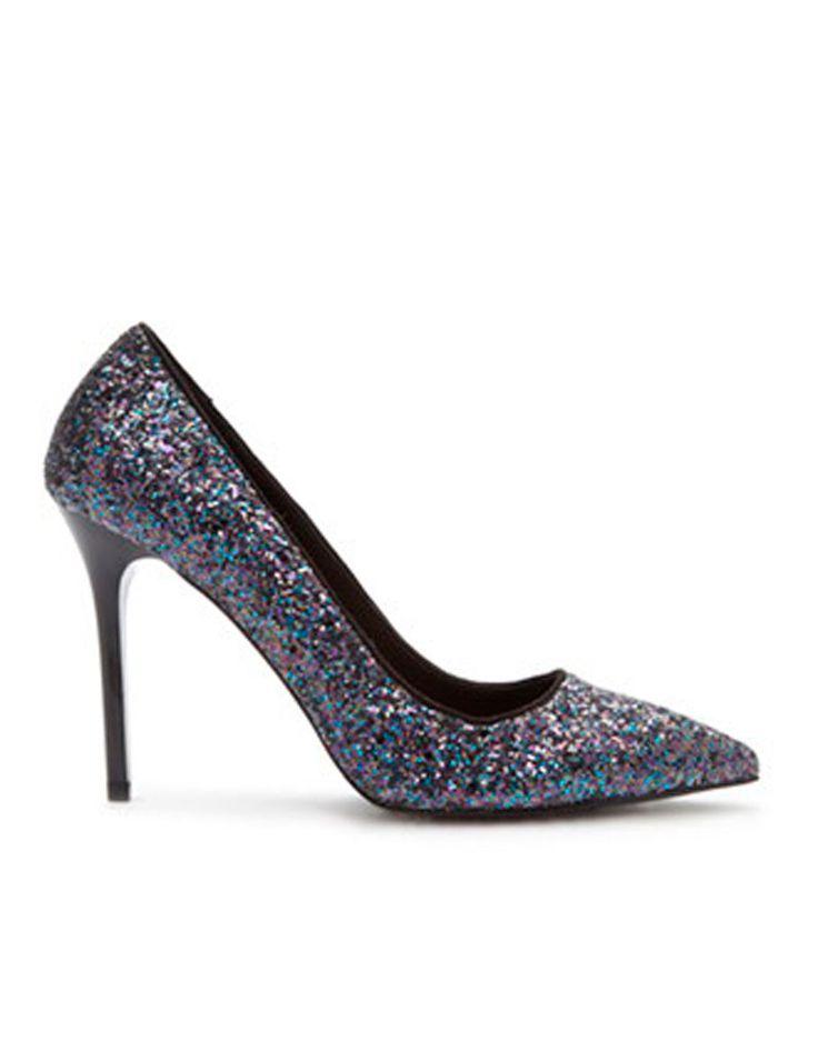 Chaussures paillettes bleues Forever 21 - 30 paires de chaussures à paillettes qui en jettent - Elle