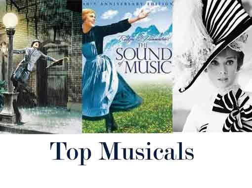THE SOUND OF MUSIC-ALS Top Movie Musicals | Main