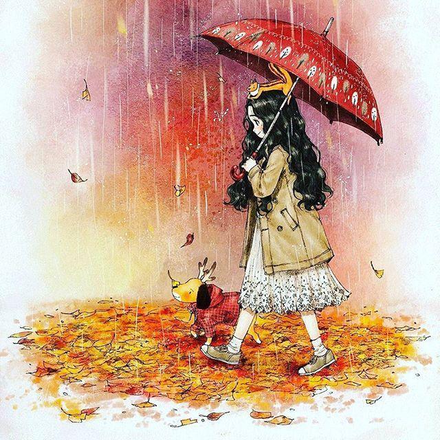 günaydın #goodmorning #autumn🍁 #yağmur #aeppol #rain #sonbahar🍁🍂