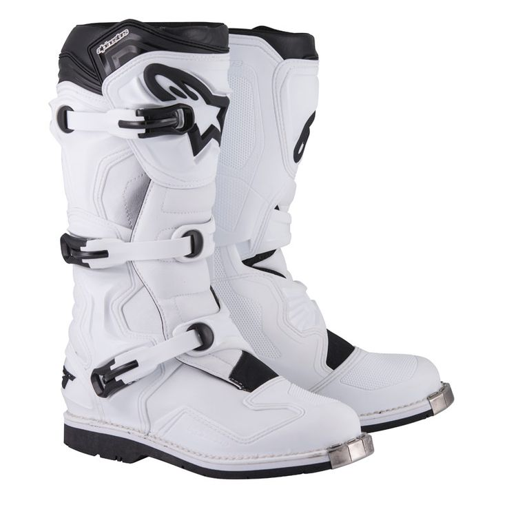 Bottes Cross Alpinestars Tech 1 White
