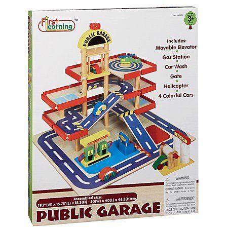 Wooden Public Garage Large