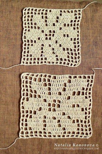 tips for filet crochet