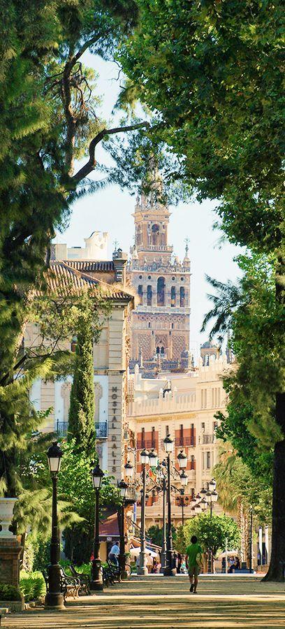 Jardines de Cristina, Sevilla, Spain
