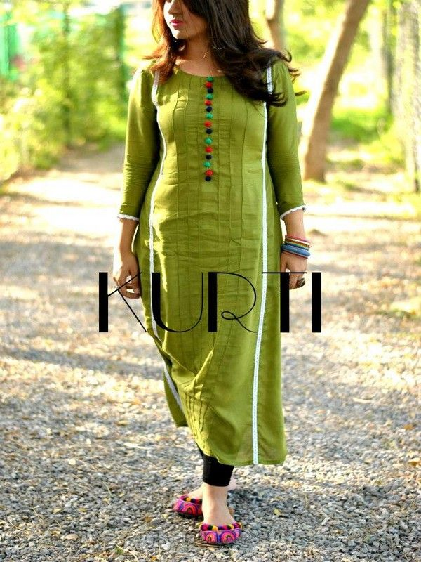 Kurti Casual Wear Collection 2013 for Summer. The organic look. Simplicity and colorful flats.