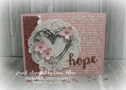 I was so excited to participate when I saw that Janet Wakeland was putting together the Ultimate Pink Blog Hop in honor of Pink October for Breast Cancer Awaren