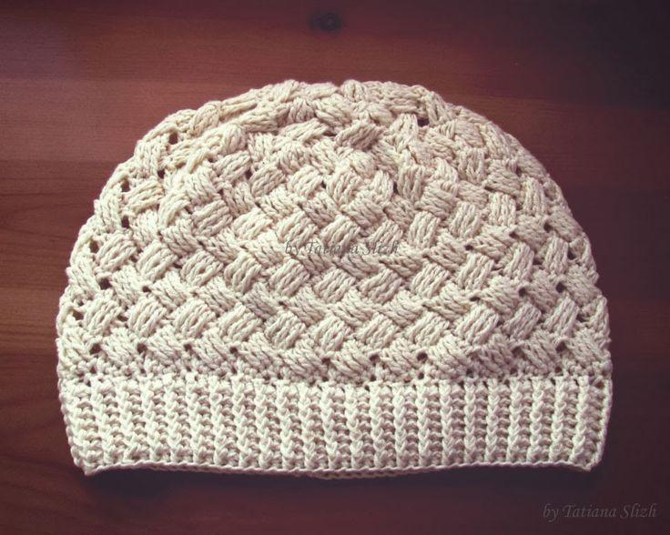 92 best Gorros Crochet 8 images on Pinterest | Crochet bufanda ...