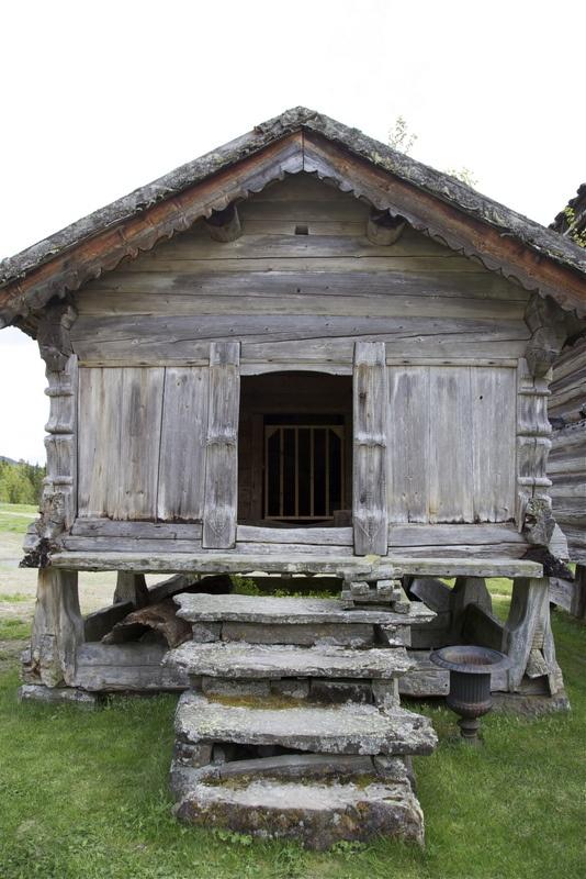 lille gamle hus