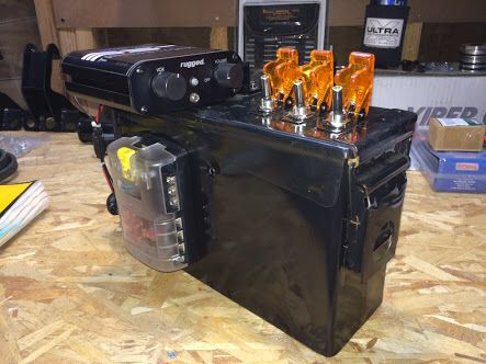 Ammo Can Console Truck Plans Pinterest Jeeps And