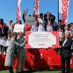 L'équipe du collège El Hajeb, représentant le gouvernorat de Kairouan, a remporté la6ème édition du tournoi de football «Ooredoo Foot Junior» après avoir battu en finale l'équipe du collège Ibn Rochd du gouvernorat de Tataouine sur le score de 1 à 0. Après le marathon des journées régionales, les 24 équipes qui ont remporté les [...]