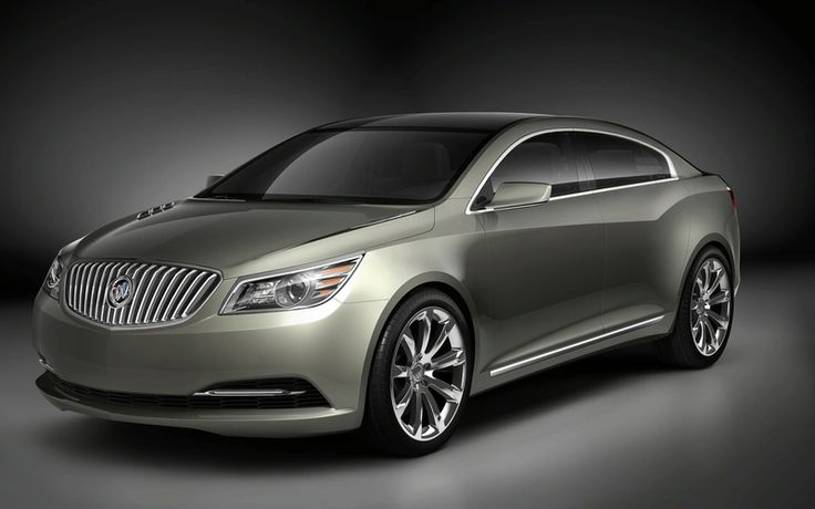 modern car New Buick Invicta Concept Debuts in Beijing Auto