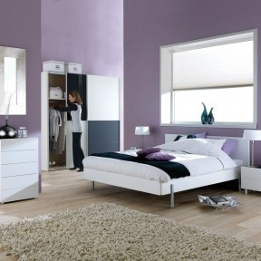 25+ beste ideeën over paarse slaapkamers op pinterest - paars, Deco ideeën