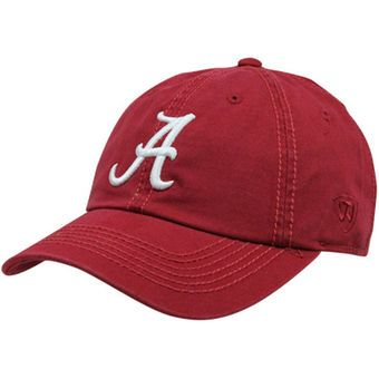 Top of the World Alabama Crimson Tide Crew Adjustable Hat - Crimson