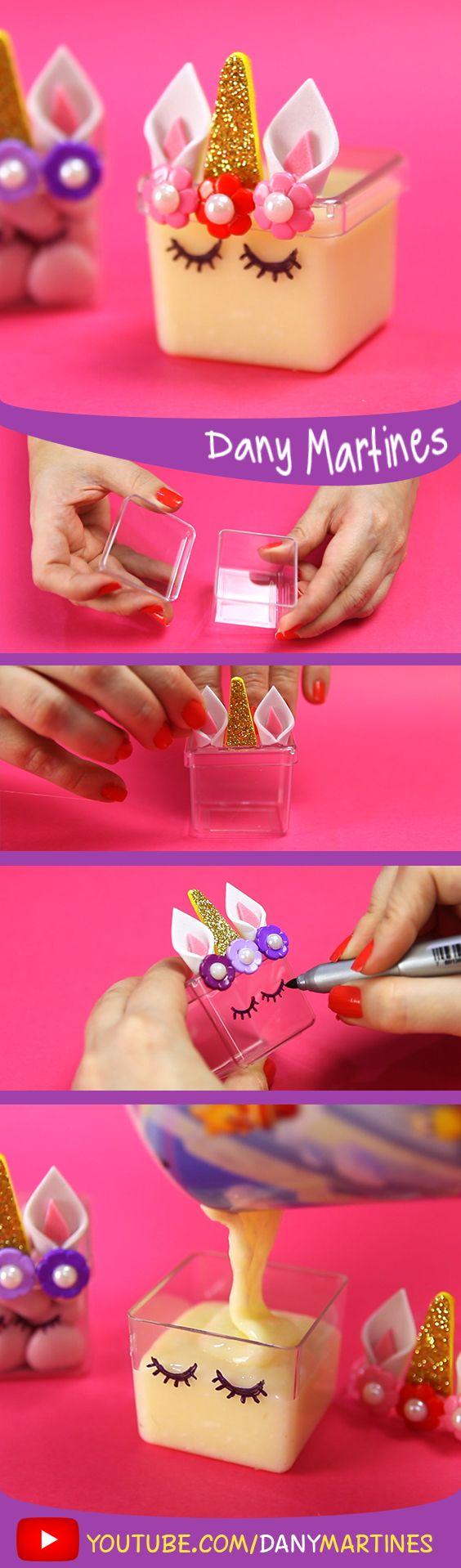 Faça você mesmo uma cixinha de acrilico de unicornio para decorar sua festa, beijinho, doce, festa, decoração, Dany Martines, DIY, do it yourself