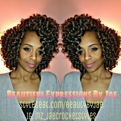 Marley Hair Crochet Braids tight curl pattern Beautiful Expressions ...