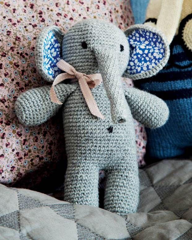 Hækl selv: Skøn elefant fra Hendes Verden