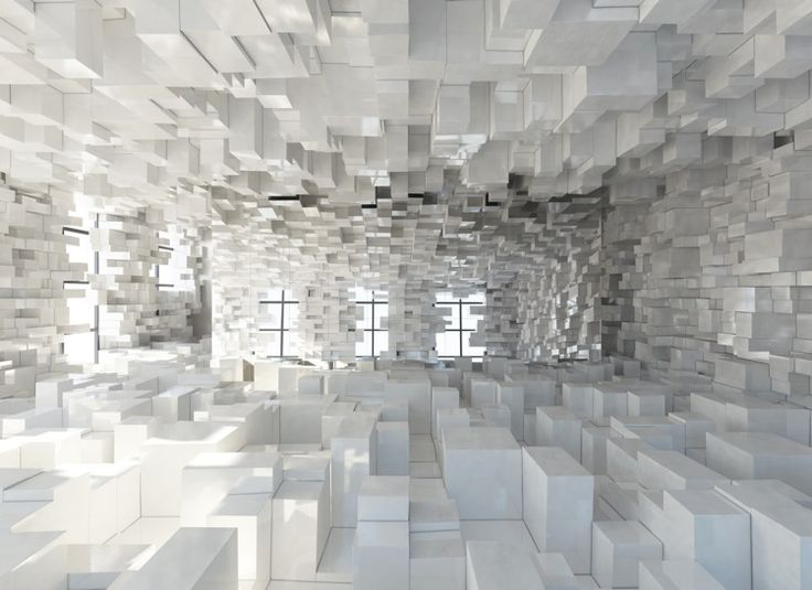 Eye Candy: Cardboard Boxes Become Pixelated Fantasyland | Co.Design | business + design
